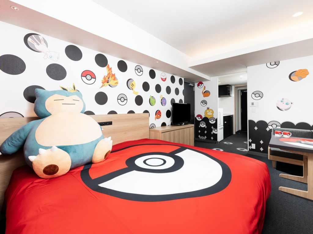 Chambre Pokemon - Lit
