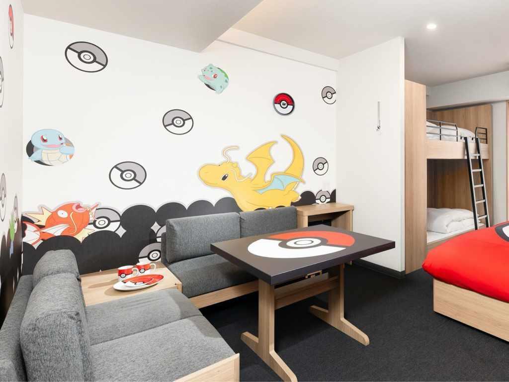 Salle à manger Pokemon